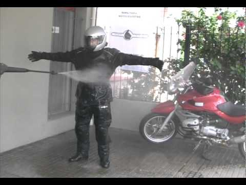 Ride Safe Prueba  de agua Campera y Pantalon Cordura