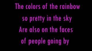 What a Wonderful World   Anne Murray with lyrics