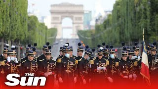 Live: Bastille Day Parade In Paris Honouring Health Workers