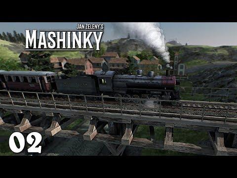 Mashinky EA ➤ 02 ➤ První odlesňovací vlaky [CZ LP]