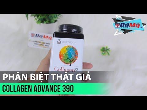 Review - Phân Biệt Hàng Thật - Giả Collagen Advance Formula 390 Viên - Đồ Mỹ .vn