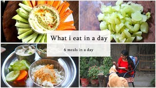 WHAT I EAT IN A DAY || 6 MEALS || #100dayswithsowbii  DAY66