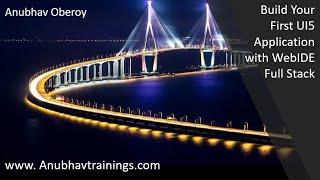 SAP Fiori Tutorial | SAP Fiori Online Training | SAP UI5 on WebIDE & XML views-No Copy paste