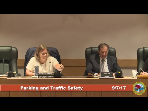 Parking and Traffic Safety Committee 9.7.2017