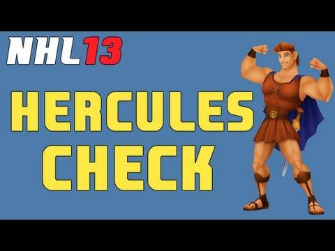 Season Or No Season, NHL 13's 'Hercules Check' Is Hockey's Greatest Hit Ever