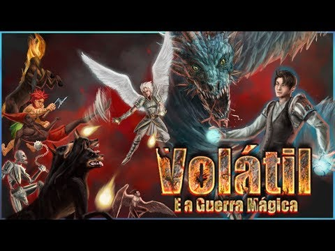 Book Trailer 2: Volátil e a Guerra Mágica | Wesnen Tellurian