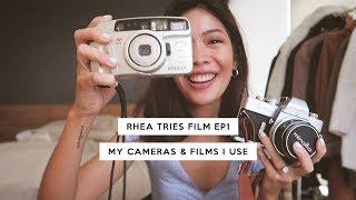 Rhea Tries Film EP1: Cameras & Film Rolls I Use | Rhea Bue