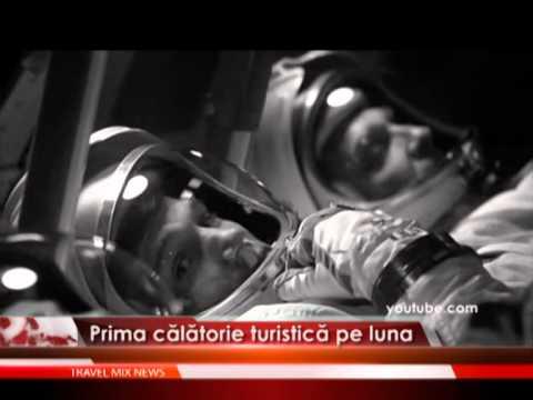 Prima călătorie turistică pe luna