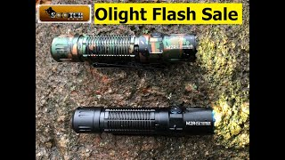 Olight Flash Sale Oct 31st M2R Pro Warrior 30 40% Off