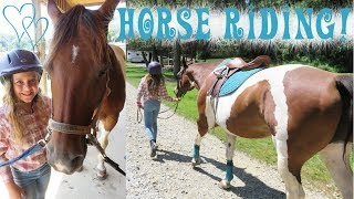 Horse Riding! Back At The Barn! | Crazy8Family