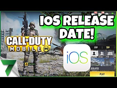 Call of Duty Mobile iOS RELEASE DATE!