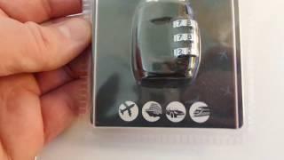 20200215 DirectSport Kangol Combo lock Кодовый замок для путешествий buy in UK England