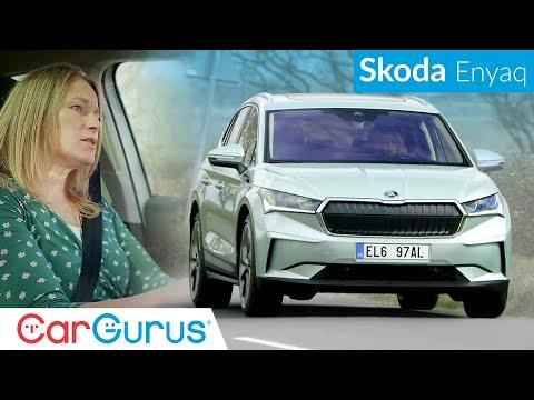 Skoda Enyaq EV 2021 Review: Has Skoda built the best family electric car so far?   CarGurus UK
