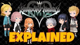 The Full Story of Kingdom Hearts Union Cross (KHUx) Explained - November & December Update