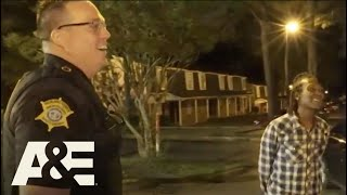 "Like Live PD? Catch Live Rescue, Mondays at 9/8c!  An officer reunites with a man who he had previously handed a trespassing warning. They had made a friendly deal that if he caught him running next time he would get a citation in this clip from ""11.22.19.""  #LivePD Subscribe for more from Live PD and other great A&E shows: http://aetv.us/subscribe_ae   Find out more about Live PD and watch full episodes on our site: http://aetv.us/LivePDOfficial   Watch Dan Abrams and Sgt. """"Sticks"""" Larkin analyze events from the show: http://po.st/LivePD_AfterAction   Check out exclusive A&E content: Website - http://po.st/AETV Facebook - http://po.st/AE_Facebook Twitter - http://po.st/AE_Twitter  In-studio host, ABC's Dan Abrams, alongside analyst Tom Morris Jr., guide viewers through the night, giving insight to what audiences see in real time (via a mix of dash cams, fixed rig and handheld cameras), bouncing minute-by-minute between the featured police departments and offering an inside look at each live incident.  A&E leads the cultural conversation through high-quality, thought provoking original programming with a unique point of view. Whether it's the network's distinctive brand of award-winning disruptive reality, groundbreaking documentary, or premium scripted drama, A&E's brave storytelling always makes entertainment an art. Visit us at aetv.com for more info."