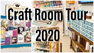 Craft Room Tour 2020