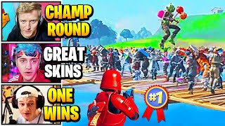 Streamers Host QUALIFIER Solo SKIN CONTEST | Fortnite Daily Funny Moments Ep.523