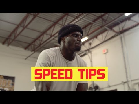 SPEED TIPS w/ @Deestroying  | Tyreek Hill Workouts