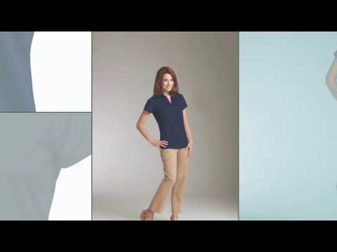 Charles River Apparel Style 2213 Women's Smooth Knit Solid Wicking Polo Shirt