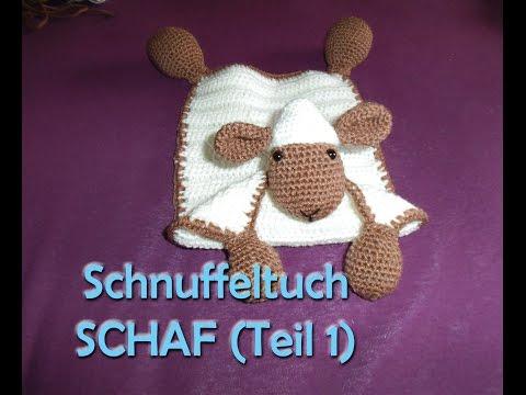 Schnuffeltuch Schaf Teil 1 - Amigurumi Häkelanleitung