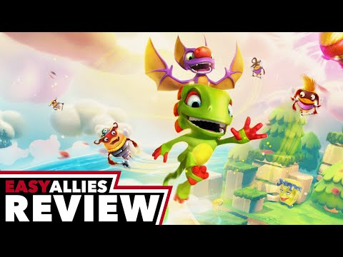 Yooka-Laylee and the Impossible Lair - Easy Allies Review - YouTube video thumbnail