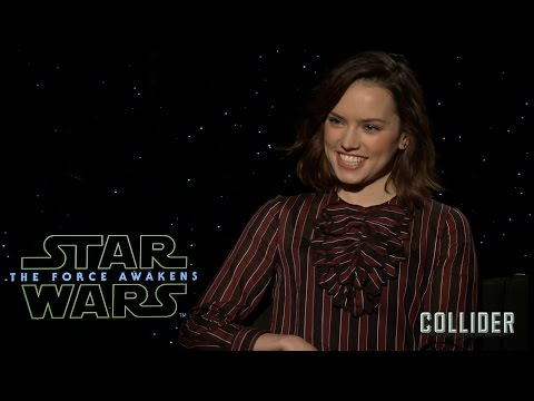 Daisy Ridley on 'Star Wars: The Force Awakens', Deleted Scenes, and Whether Han Shot First