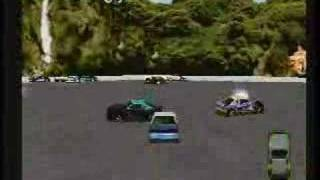 Destruction Derby Playstation Gameplay