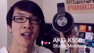 AKG K550 Headphone Review: Clean, Lean & A Little Mean
