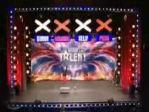 Britains Got Talent - mike henderson almost dies (видео)