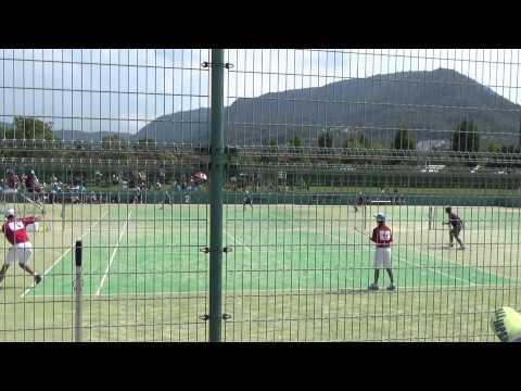 14 全国中学校ソフトテニス大会 男子準決勝 1-1
