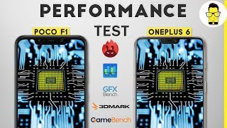 Poco F1 vs OnePlus 6: speed test, PUBG test (Game Bench), and benchmarks