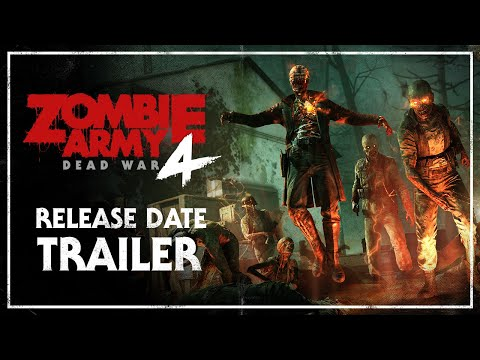 Zombie Army 4: Dead War – Release Date Trailer   PC, PlayStation 4, Xbox One thumbnail