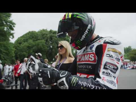 Josh Brookes at the Goodwood Festival of Speed