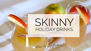 Fat Burning Foods | Skinny Drinks Recipe | Healthy Cocktails + Easy Skinny Drinks!
