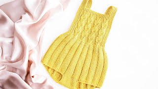 Knitting Pattern Baby Romper Sutomore (review)