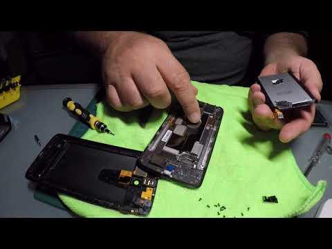 Motorola X-Play Smartphone Akku-Wechsel (How to fix it) Reparatur-Video