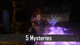 Skyrim - 5 More Strange and Unexplained Mysteries - The Elder Scrolls 5 Secrets