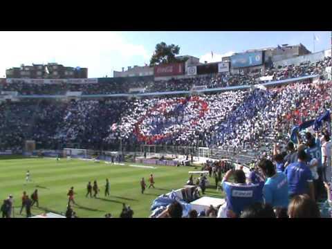 """""""La Sangre Azul Mosaico vs Gatas"""" Barra: La Sangre Azul • Club: Cruz Azul"""