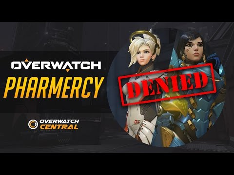 Overwatch | How To Counter Pharah-Mercy (PharMercy) - Denied