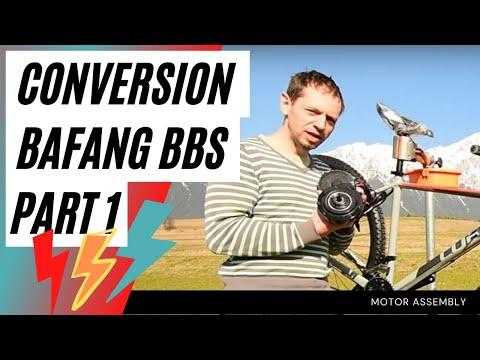 Bafang BBSHD Motoreinbau, Montage BBS03 Mittelmotor E-Bike Teil 1