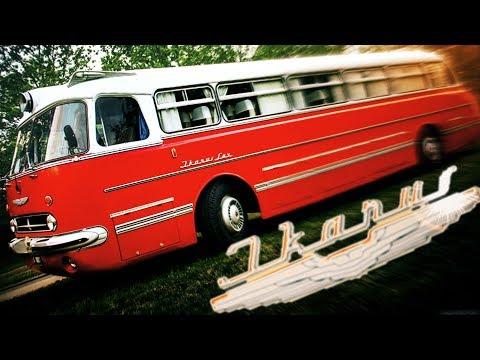 Автобус Икарус 55 Обзор История Автобусы Икарус [ АВТО СССР #22 ]