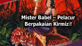 23 Misteri Babel  - Wanita Berpakaian Kirmizi