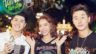 Việt Nam tươi đẹp l Noo Phước Thịnh và Diệu Nhi đưa Basick khám phá TP.HCM về đêm   VNTD l HTV Web