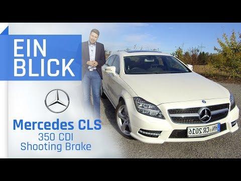 Mercedes CLS 350 CDI Shooting Brake (X218) 2013 - Praktisch & Elegant? Vorstellung, Test & Review