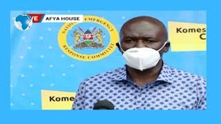 MoH Dr.  Patrick Amoth's statement on COVID -19 Pandemic