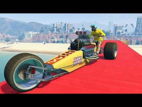 PRIMERA CARRERA CON LA MOTO SALCHICHA!! - GTA V ONLINE - GTA 5 ONLINE