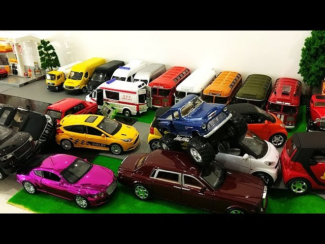 Car Cartoon for Children | Cartoon Cars | Car Parking for Kids | Toy Cars for Kids Cartoon Toys