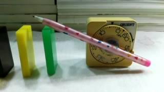 計時器的骨牌測試