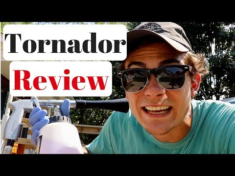 Tornador Black Car Cleaning Gun Review