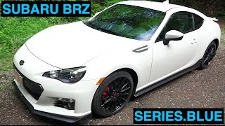 2015 Subaru BRZ Series.Blue - Review & Test Drive